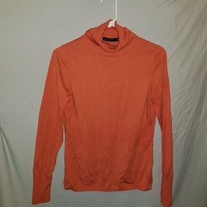 The Limited Coral turtleneck